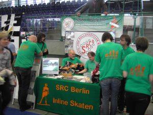 Infostand SRC Berlin